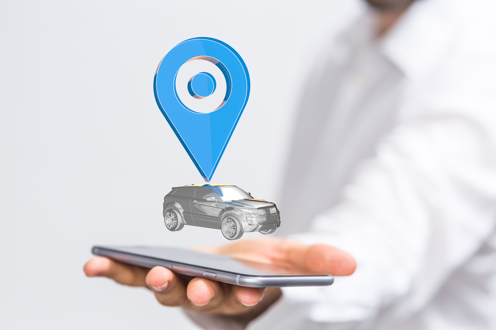 جهاز GPS لتتبع السيارات